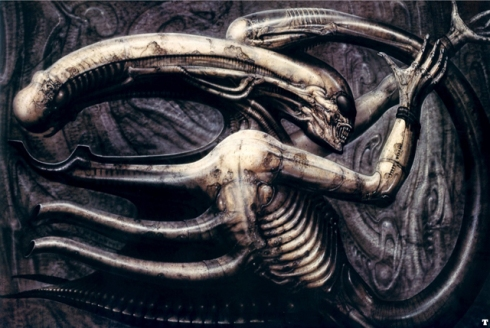 'Necronom IV' by H.R. Giger (1976)