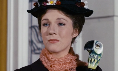 Like anyone could compete with Julie Andrews.