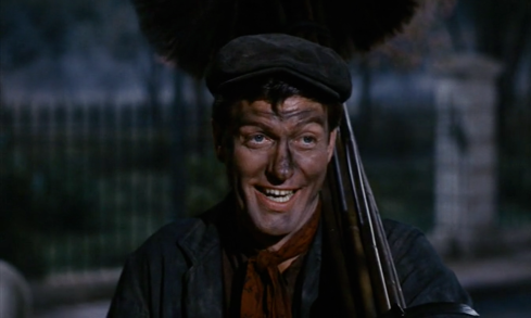 Pictured: The happiest damn chimney sweep you ever saw.