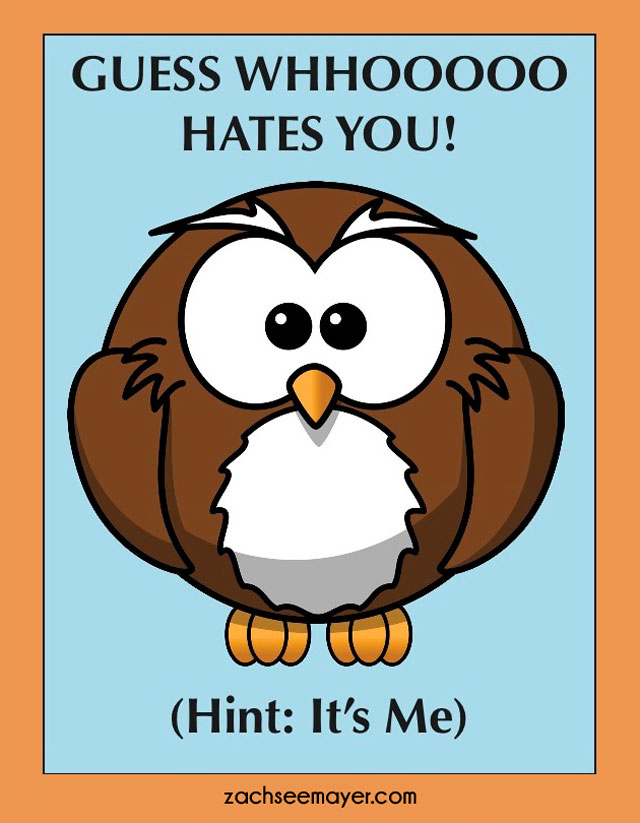 AntiValentines Day Cards For People You Hate – Hate Valentines Day Cards